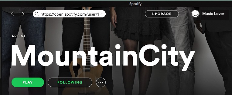 Stream MountainCity Music for free!